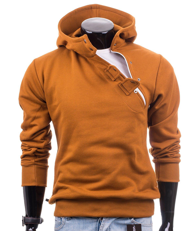 Mens brown hoodie