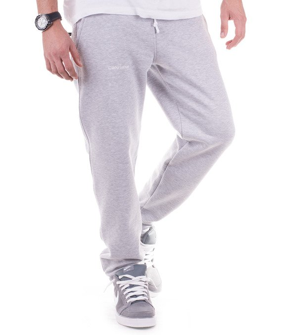 Classic grey men's sweatpants trousers Carlo Lamon