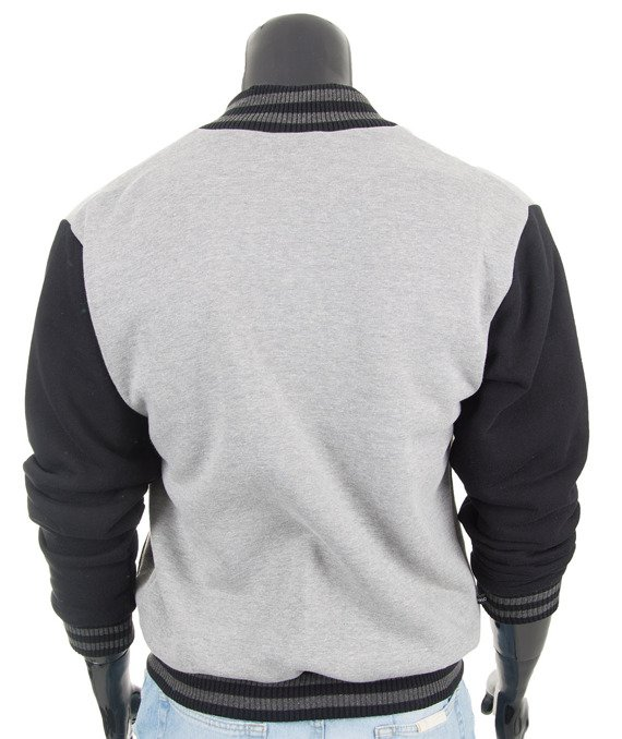 Original melange men's jacket sweatshirt Carlo Lamon