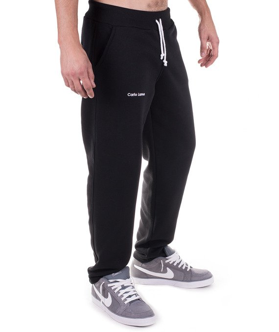 Classic black men's sweatpants trousers Carlo Lamon