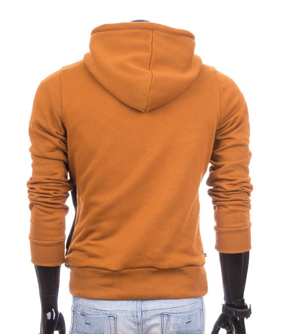 Light brown camel men's hoodie Carlo Lamon