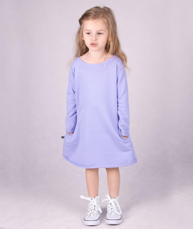 ff51851945 ... Fioletowa dresowa sukienka dziecięca Carlo Lamon Kliknij