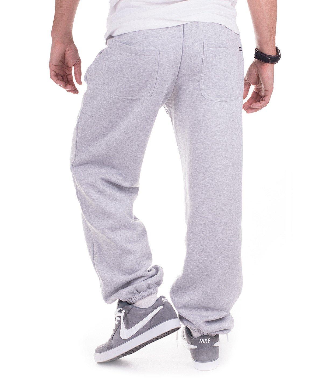 wysoka moda szeroki wybór eleganckie buty Szare męskie spodnie dresowe 'Teodoro' od Carlo Lamon